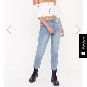 BRAND NEW Nasty Gal Jeans